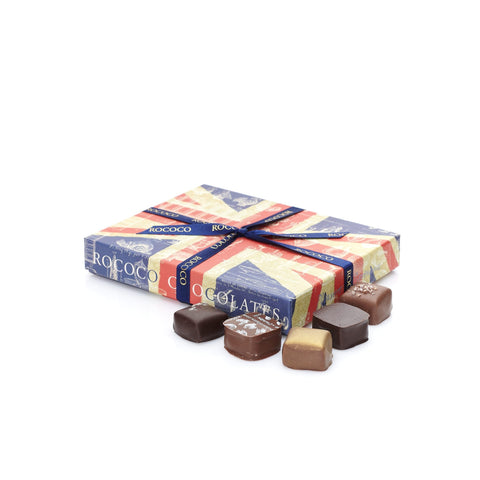 Small Union Jack Chocolate Truffles Box