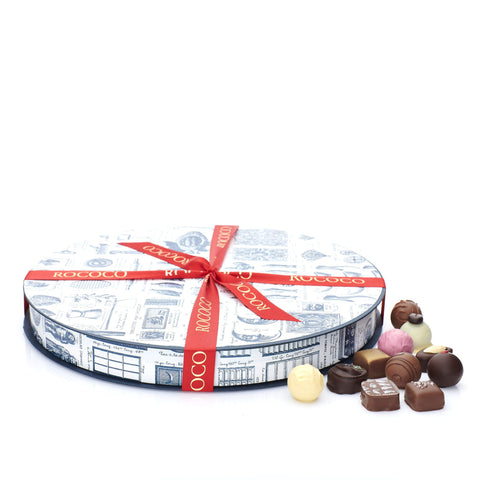 Chocolate Truffles Round Box No. 3