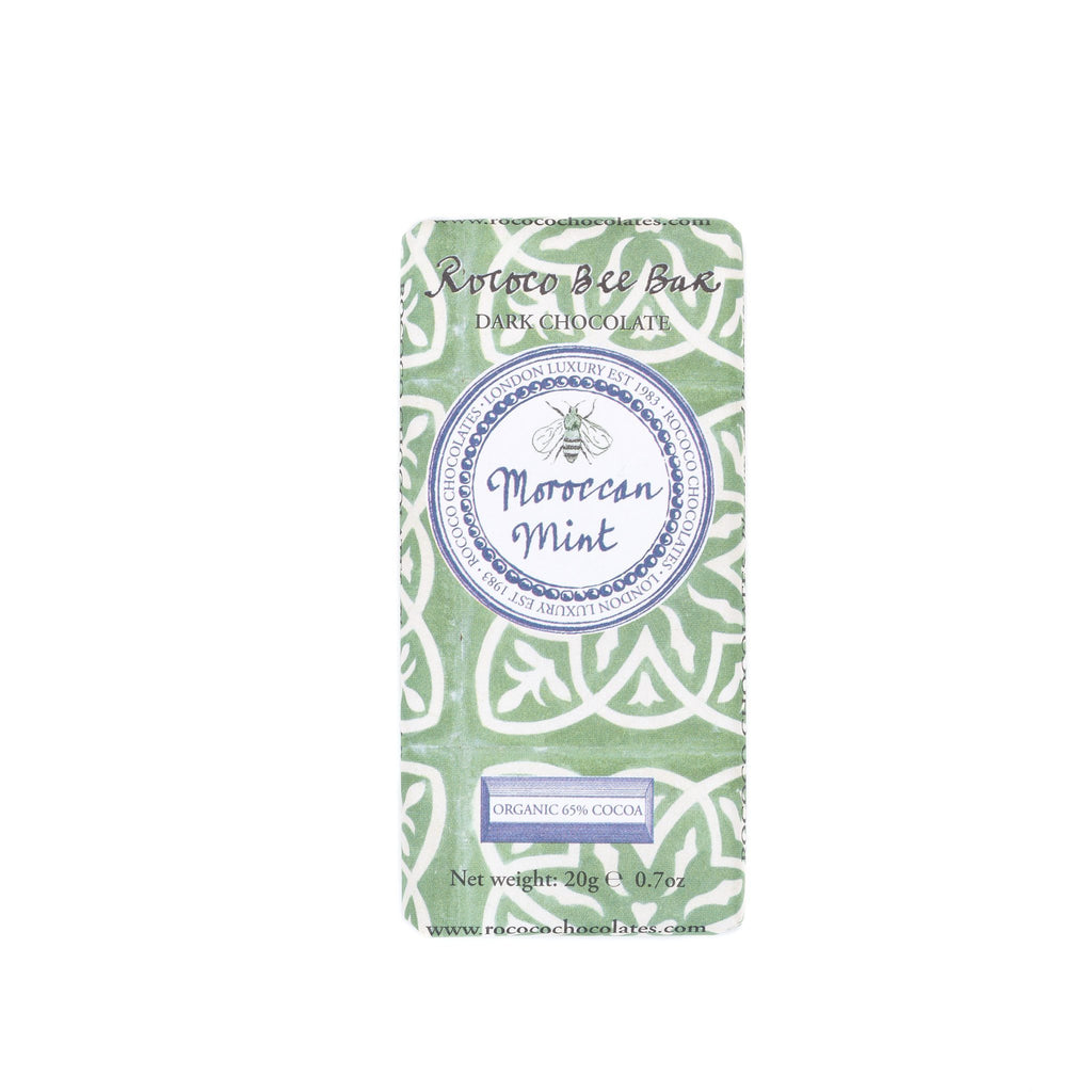 Moroccan Mint Organic Dark Chocolate Bee Bar