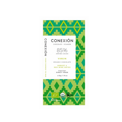 Conexion - Virgin Arriba Nacional 85% Dark Chocolate