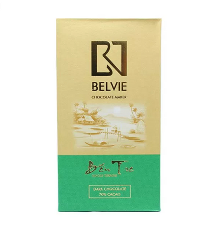 Belvie Ben Tre Dark Chocolate 70%