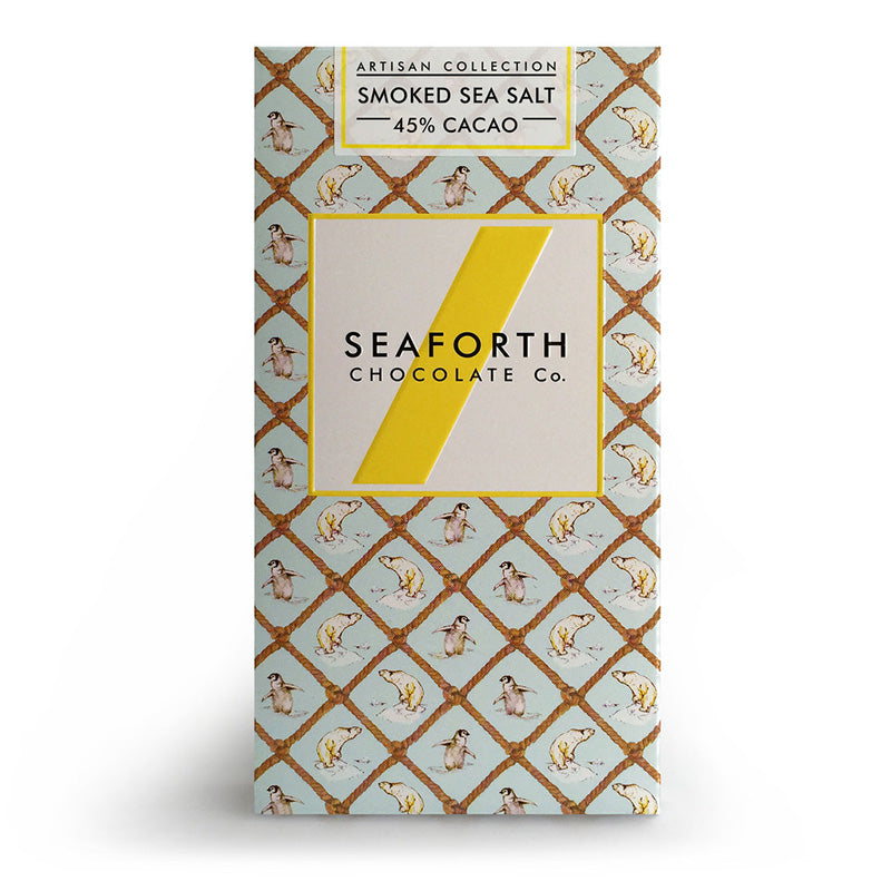 Seaforth - Milk Chocolate Bar with Smoked Sea Salt