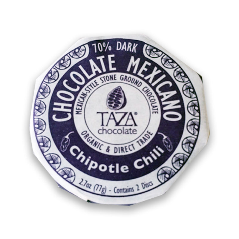 Taza Chocoate Mexicano Chipotle Chili