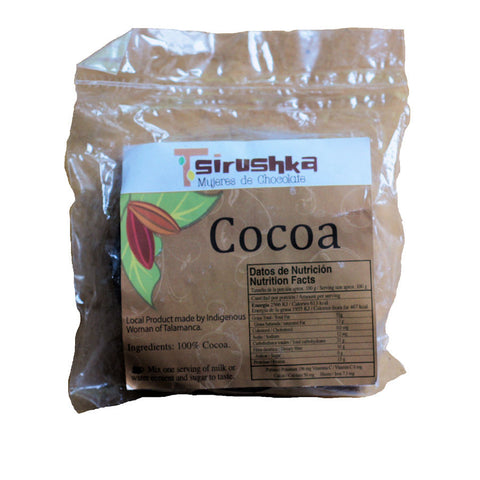 Tsirushka Mujeres de Chocolate 100% from Costa Rica