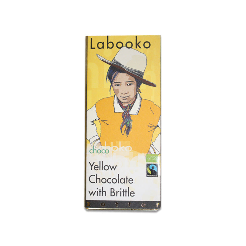 Zotter Labooko Yellow Chocolate with Brittle - Cocoa Runners