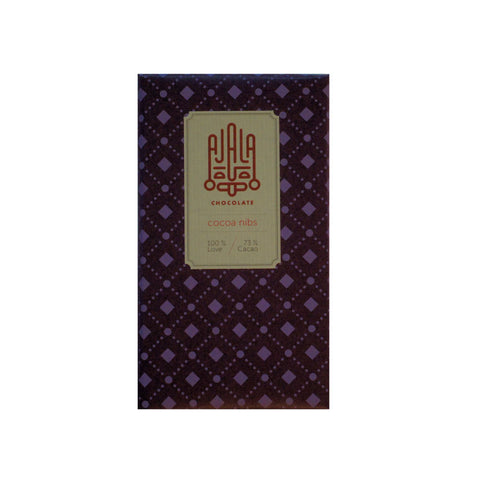 Ajala 73% Dark Chocolate with Cocoa Nibs