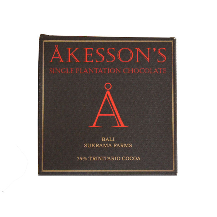Akesson's 75% Bali Trinitario Dark Chocolate