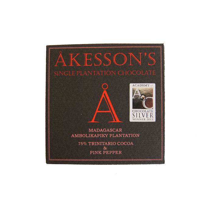 Akesson's 75% Madagascar with Pink Pepper