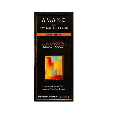 Amano Dos Rios 70% Dark Chocolate