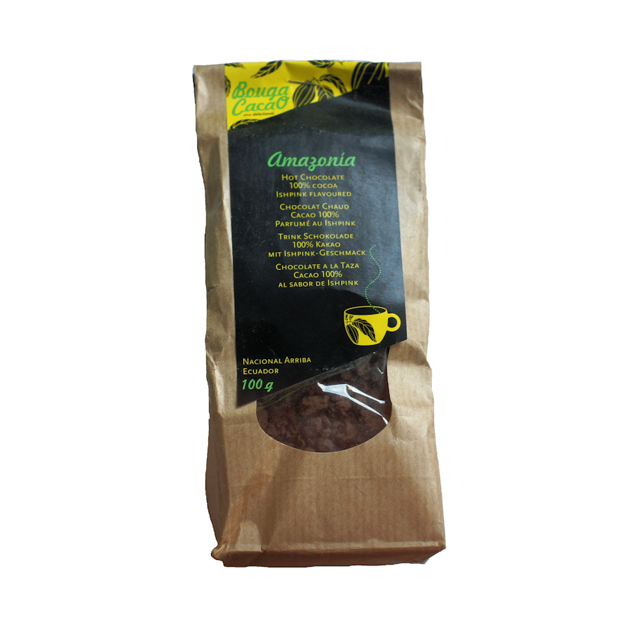 Bouga Cacao Amazonia 100% Hot Chocolate