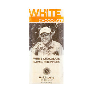 Askinosie, Luxury White Chocolate Bar