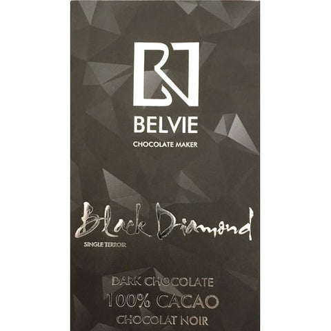 Belvie - Black Diamond 100% Dark Chocolate