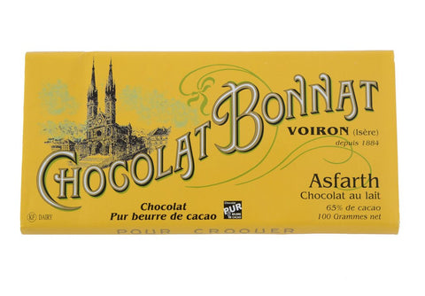 Bonnat 65% Asfarth Milk Chocolate