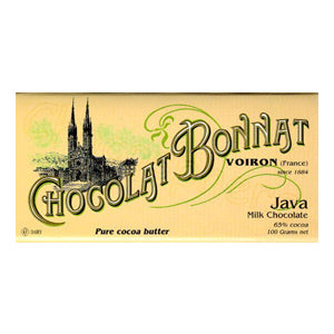 Bonnat, Java 65% Dark Milk Chocolate Bar