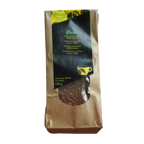 Bouga Cacao Pure 100% Hot Chocolate