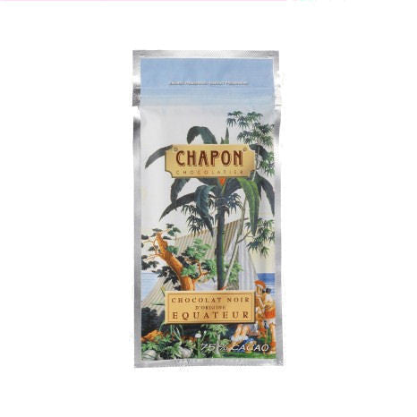 Chapon 75% Ecuador Dark Chocolate