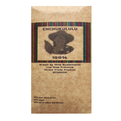 Chchukululu Directly Traded 100% Chocolate from Ecuador