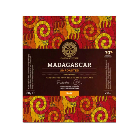 The Chocolate Tree Unroasted Madagascar 70%