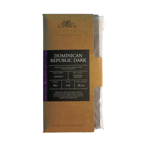 Chocolarder Dominican Republic 80%