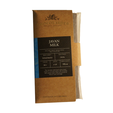 Chocolarder 40% Java Milk Chocolate
