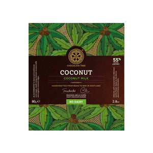 The Chocolate Tree - 55% Coconut Milk Chocolate Bar