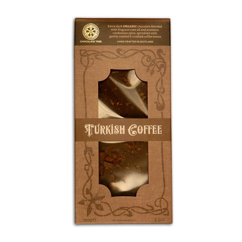 Organic Turkish Coffee Chocolate Bar