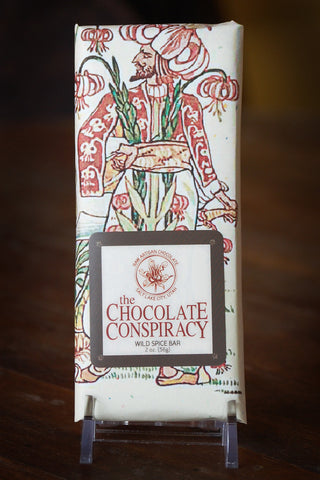 The Chocolate Conspiracy Wild Spice 72%