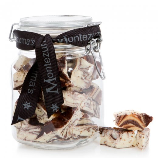 Dark and White Chocolate with Coffee Jar Bar