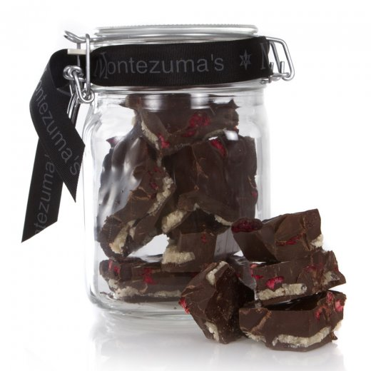 Dark Chocolate with Marzipan & Cherry Jar Bar