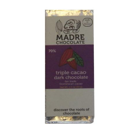Madre Triple Cacao 70% Dark Chocolate