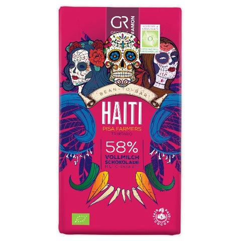 Georgia Ramon - Haiti Dark Milk 58%