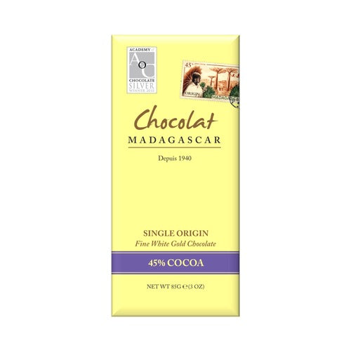Chocolat Madagascar 34% White Chocolate