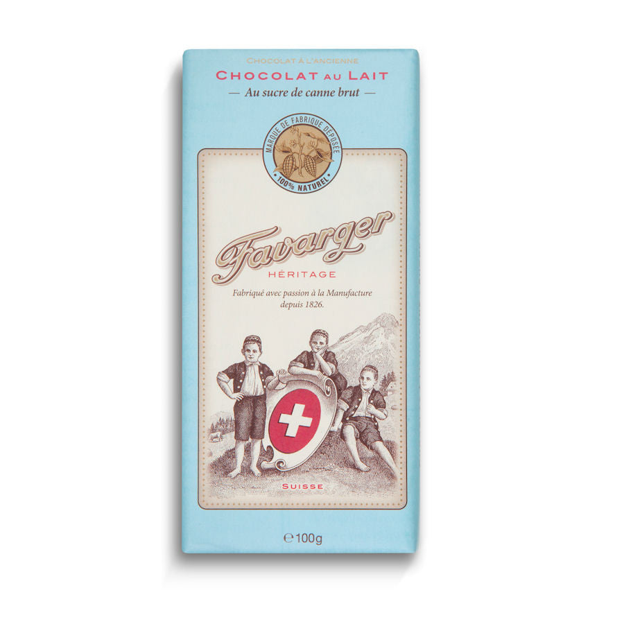 Favarger Heritage 38% Milk Chocolate