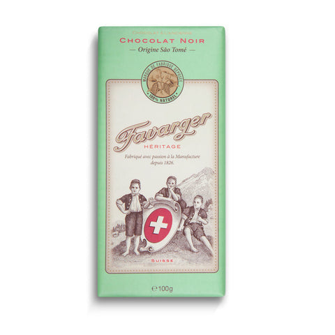 Favarger Heritage Sao Tome 66% Dark Chocolate