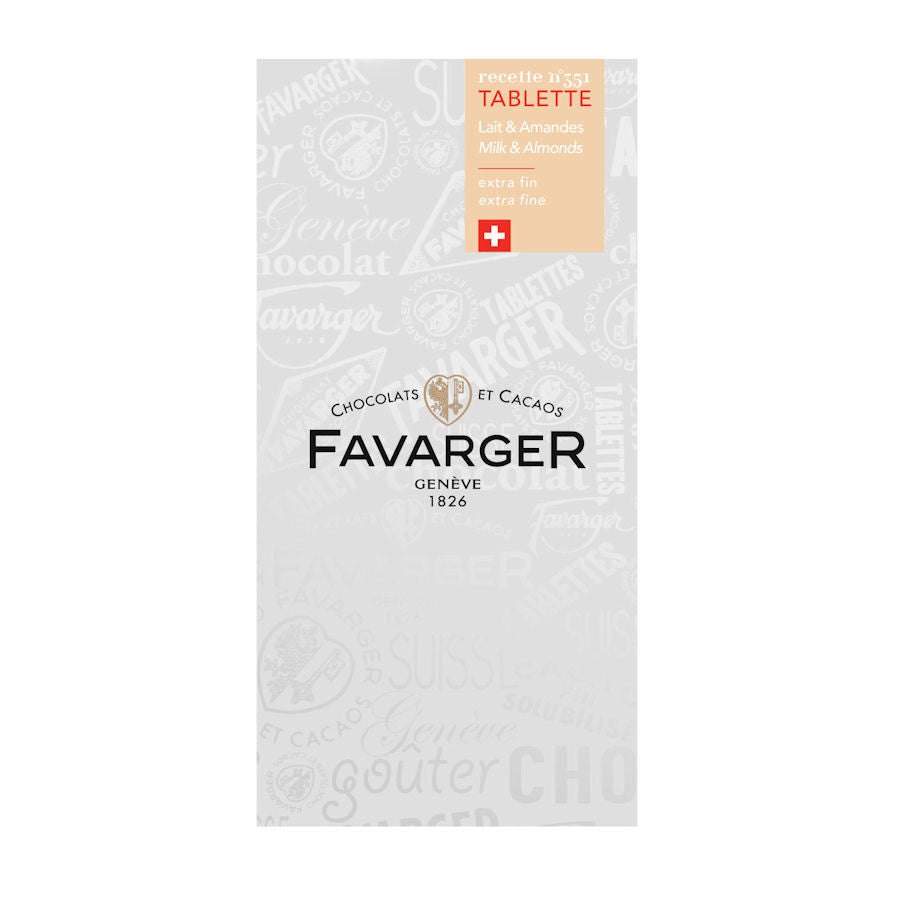 Favarger Milk Chocolate with Almonds