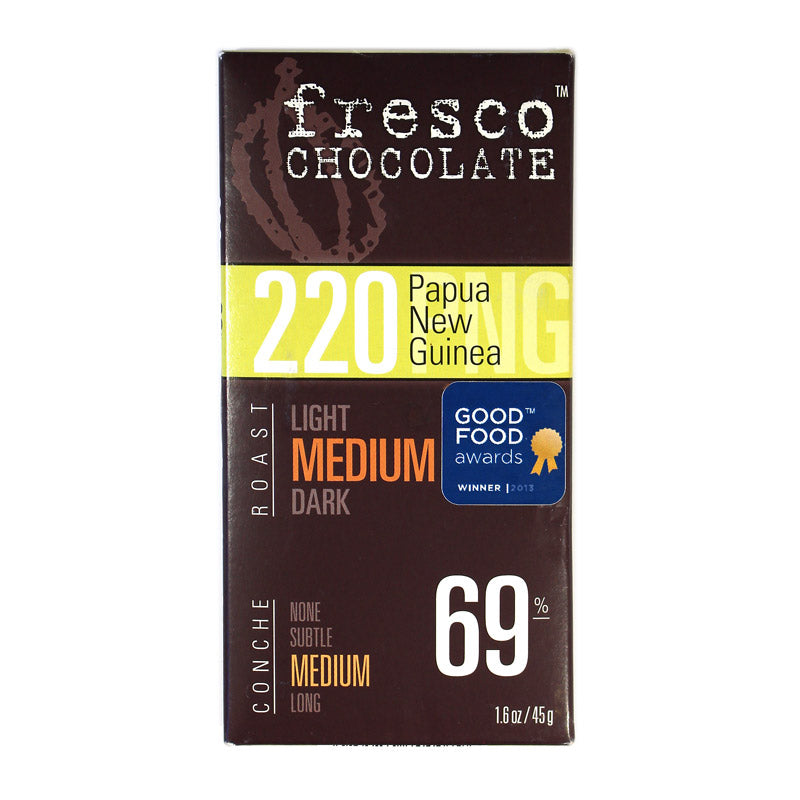 Fresco 220 Papua New Guinea 69% Dark Chocolate Bar