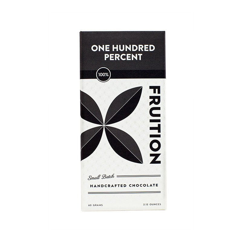 Fruition 100% Dark Chocolate