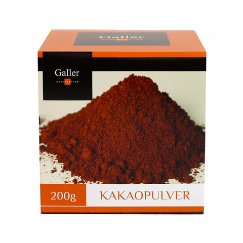 Galler 100% Belgian Cacao Powder