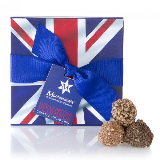 Great British Pudding Truffle Box
