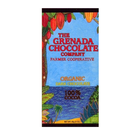 Grenada 100% Cocoa Dark Chocolate
