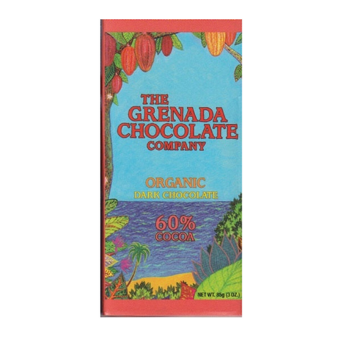 Grenada Chocolate Co. 60% Dark Chocolate Bars