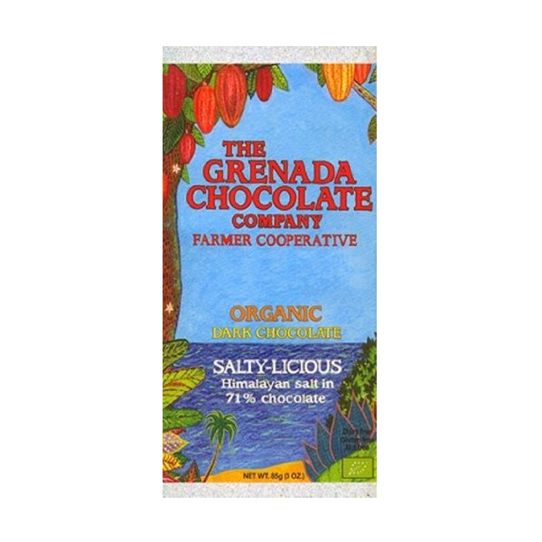 Organic Grenada Chocolate Co. Bar Salty-Licious