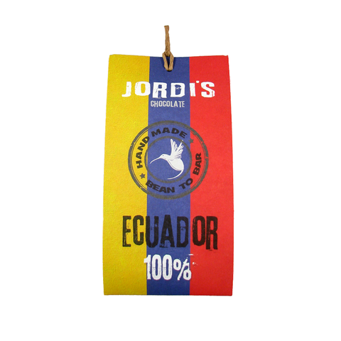 Jordi's 100% Ecuador Dark Chocolate