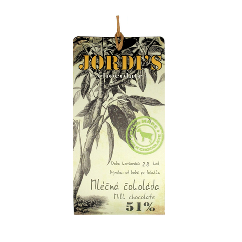 Jordi's Goat's Milk Chocolate 51%