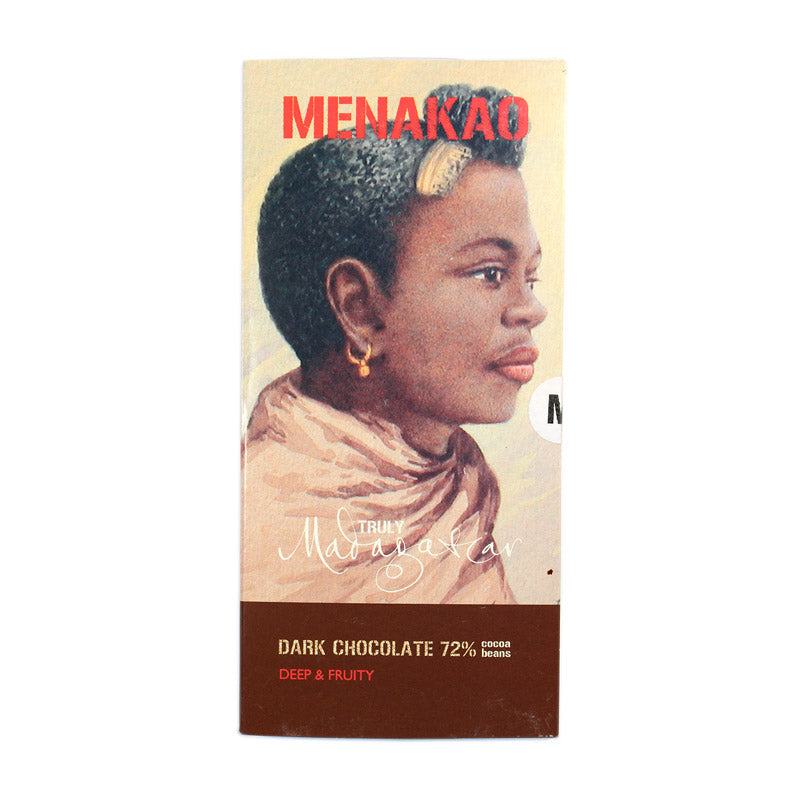 Menakao Dark Chocolate 72% (Taster Bar) (CARTON24)