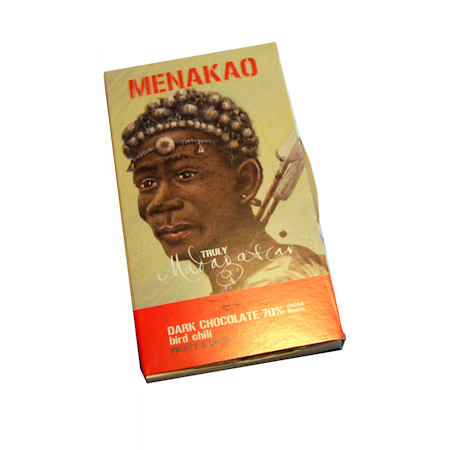 Menakao 70% Dark Chocolate with Bird's Eye Chilli