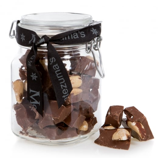Milk Chocolate with Brazil Nuts Jar Bar
