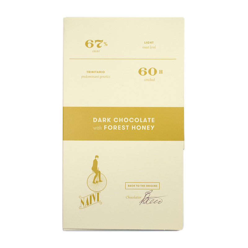 Naive Dark Chocolate With Forest Honey