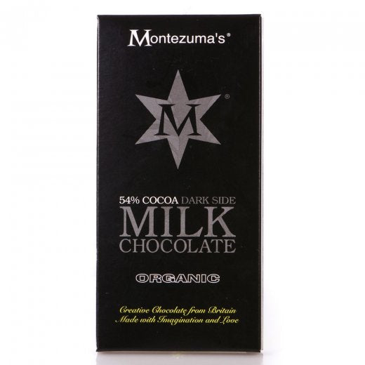 Organic 54% Cocoa Dark Side Milk Chocolate