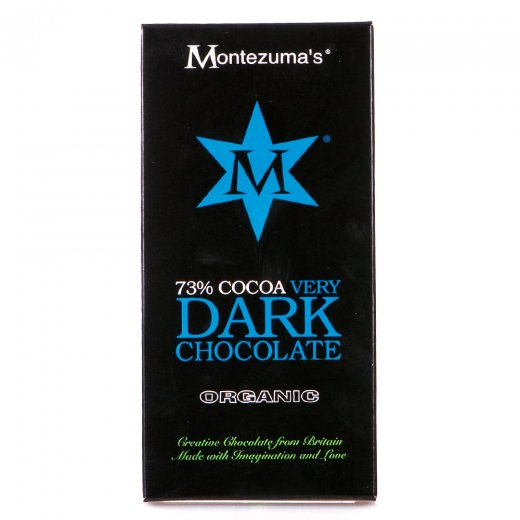 Organic 73% Cocoa Very Dark Chocolate Bar